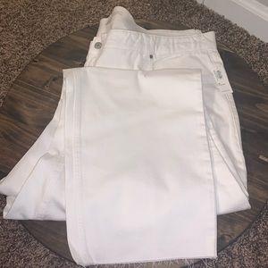 NWT Old Navy Fringe Bottom Jeans